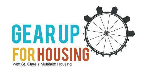 Gear Up For Housing Logo St. Clare's Multifaith Housing